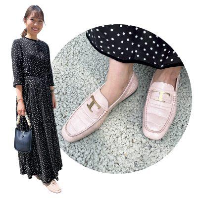 """【足元SNAP】子連れママは""""ゴツめモード""""な靴でコーデを引き締め"""