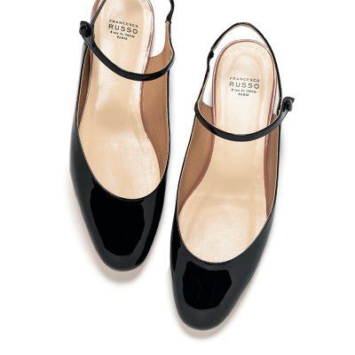 結局履くのは「黒のフラットシューズ」!シンプルデザイン12選