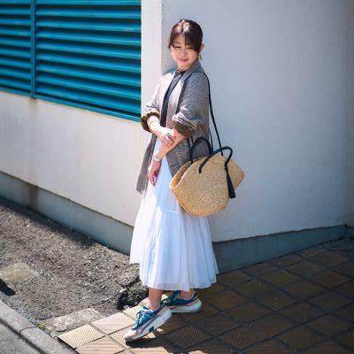 「オニツカタイガー」カジュアル上手なスタイリストが履いてみた!【FILE.3  大野千歩さん】