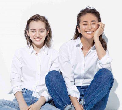 母と娘の【白シャツ×デニム 】世代を越えるカジュアルスタイル