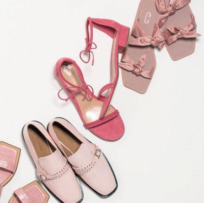 オシャレに見える靴の色はピンク!大人の差し色シューズ6選