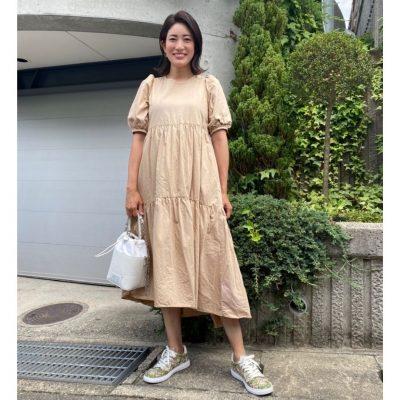 【妊娠6カ月】ブランドスニーカーで「ワンピコーデ」のマンネリ打破