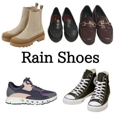 雨で靴の中が濡れるのが嫌!おしゃれな「レインシューズ」4選