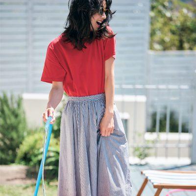 【Tシャツの色別】夏のカラーTシャツコーデ5選