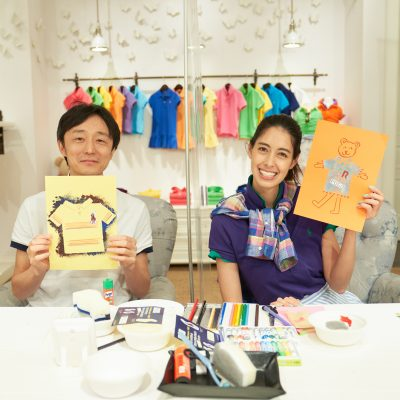 森泉さんとポロ ラルフ ローレン#ポロシャツ遊び、やってみたら盛り上がった!