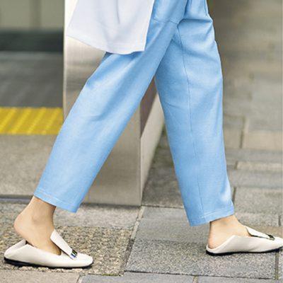 踵が踏めるきちんと靴【セルジオ ロッシのsr1】が送迎ママの定番入り!