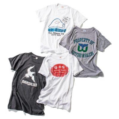 スタイリストが太鼓判「ロングビーチ」のヴィンテージTシャツ5選