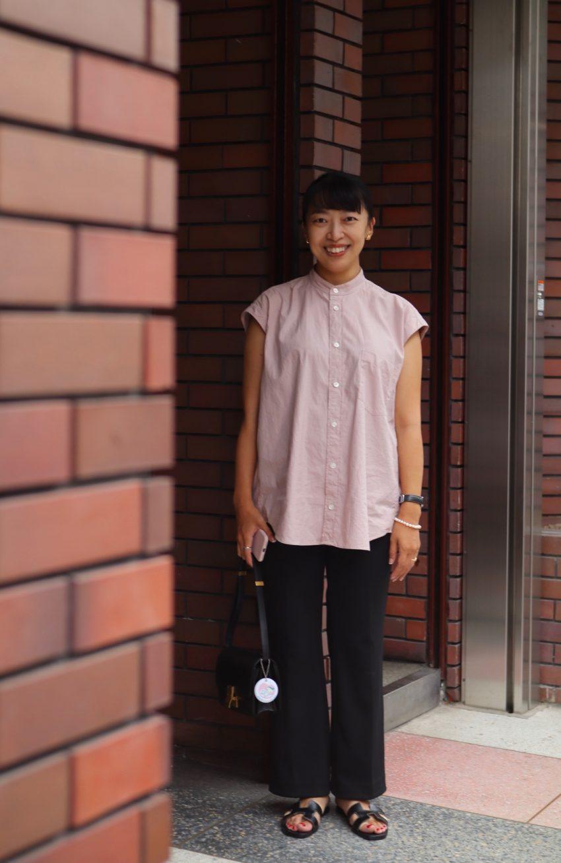 【妊娠6カ月】「ウエストゴムパンツ」でマタニティ服を使わない妊婦コーデ