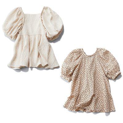 【きれいめ派の⽢トップス4選】抱っこ紐卒業ママの解禁ファッション