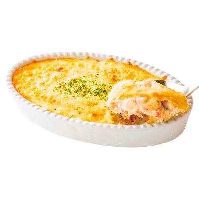 """【市販品で作るアレンジ料理】「カップスープ」で""""豆腐グラタン""""が完成"""