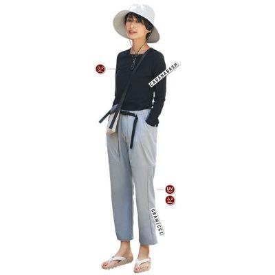 「接触冷感&UV加工」夏の公園オシャレに多機能服が味方!