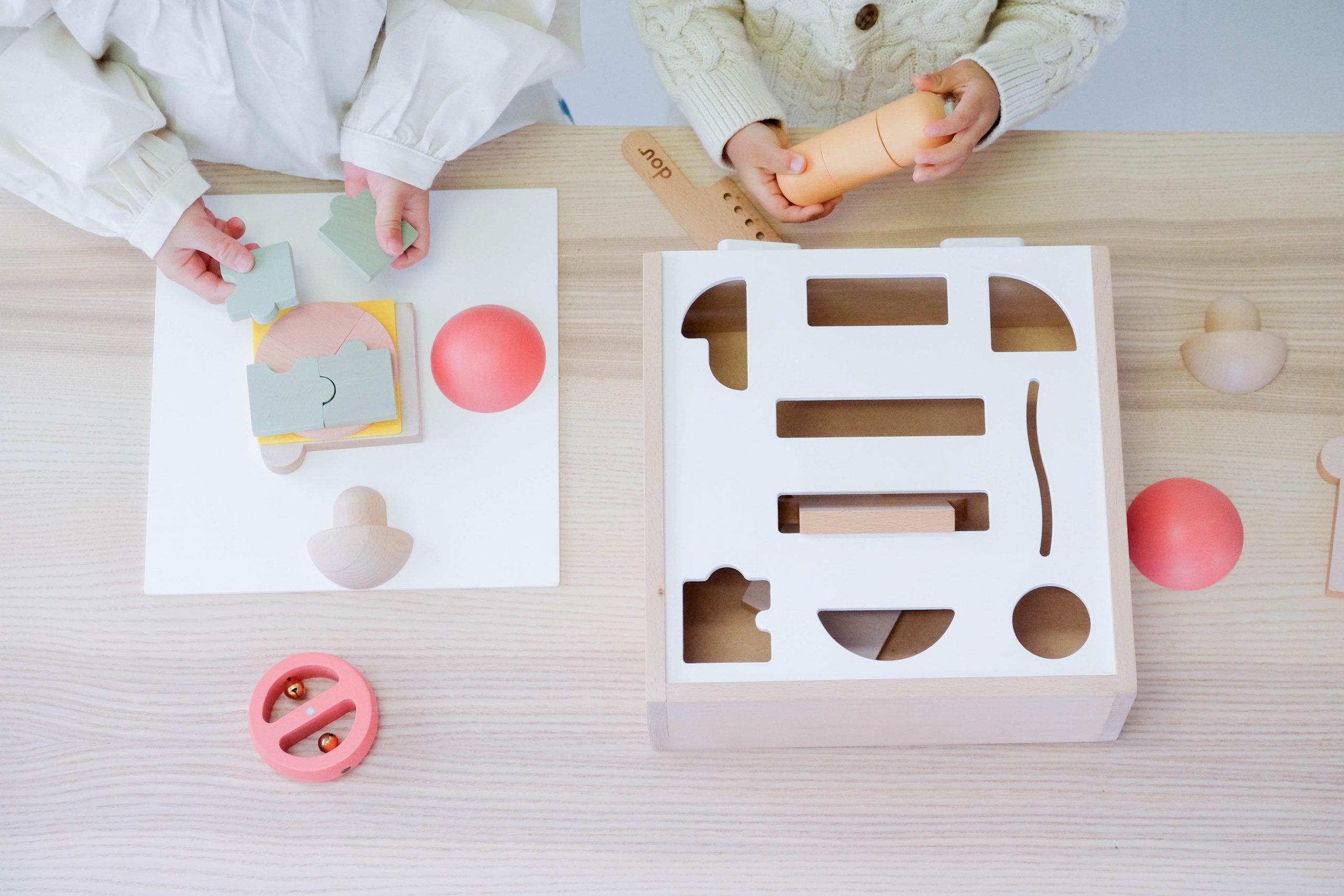赤ちゃん ベビー 新生児 お祝い 出産祝い dou? 木製 おもちゃ