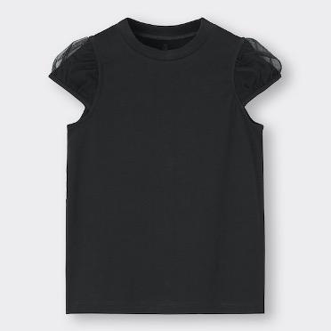 子供服 子ども服 キッズ GU Tシャツ