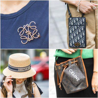 【ブランド小物のセット持ち】バッグ&ポーチ、帽子&バッグ…ちょうどいいバランスが知りたい!