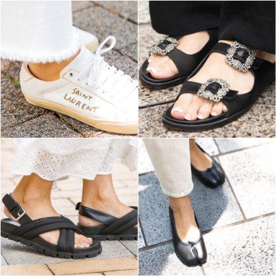 【歩きやすいブランド靴 大研究】スナップで人気の4タイプを紹介!