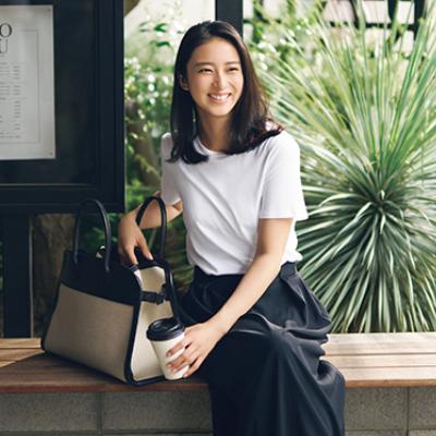 武井咲さん「THE ROWのバッグは仕事もプライベートも愛用中」