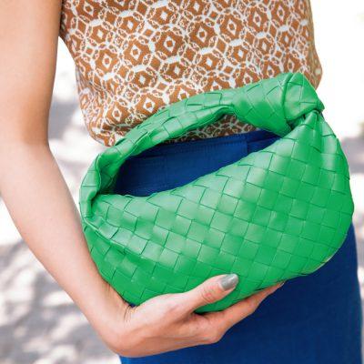 【ボッテガSNAP】差し色バッグならボッテガ・ヴェネタのグリーンに注目!