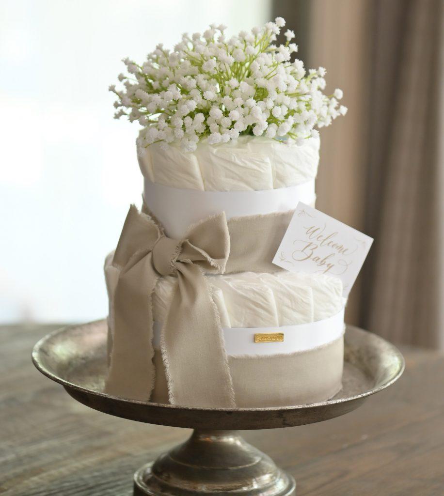 赤ちゃん ベビー 新生児 お祝い 出産祝い おむつケーキ