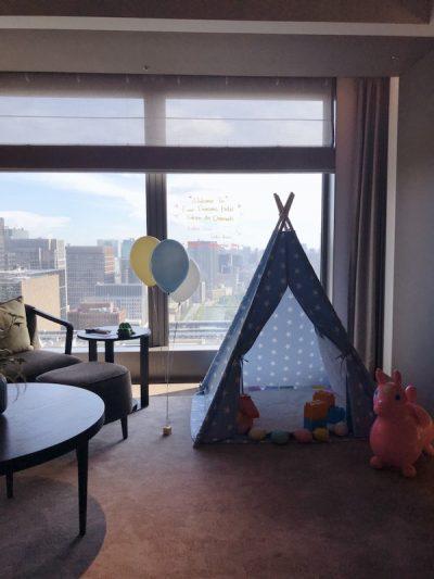 子どもが喜ぶ特典が満載!フォーシーズンズホテル東京大手町に家族で宿泊してみた