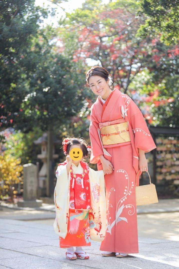 七五三のママ(母親)の服装、着物・和装3