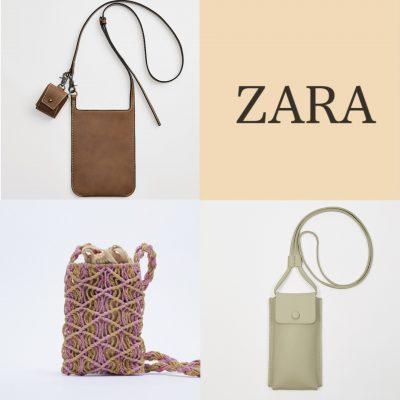 【ZARA】の「スマホショルダーバッグ」3選!メンズも可愛い