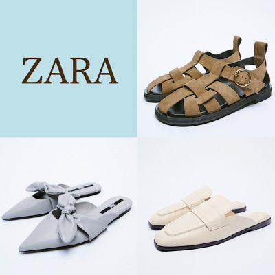 【ZARA】のおすすめフラットシューズ3選!秋はじめにおすすめ