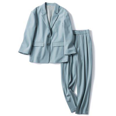 【秋の通勤コーデ】お仕事服にぴったりな「カラーセットアップ」を着回し!