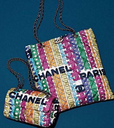 シャネルの新作バッグは大胆なマルチカラー!秋冬スタイルを彩る大人の名品
