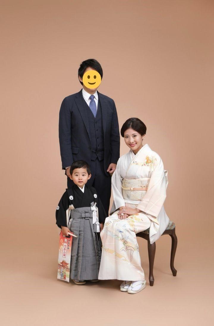 七五三のママ(母親)の服装、着物・和装1