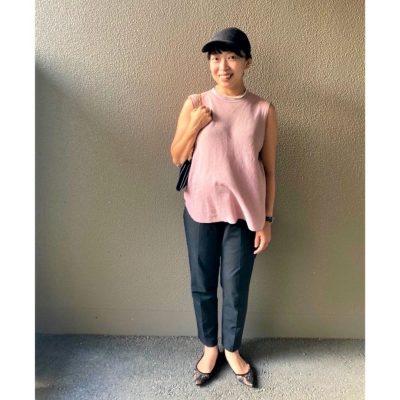 【妊娠9カ月】「ワコール」のマタニティパンツはセンタープレスですっきり見え!