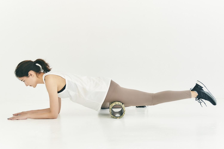産後ダイエットにおすすめのグリッド フォームローラー使ったほぐしトレーニング。