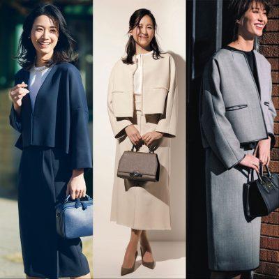【スーツ派ママの七五三】 紺・ベージュ・グレーで作るコーデ5選!