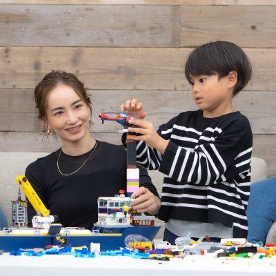 辻元 舞さん|こんな遊びかたもできる!「子どもの創造力をカタチにできるレゴ」で新発見