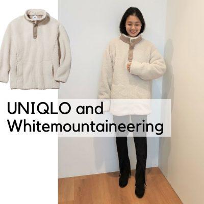 細見え狙える【UNIQLO and Whitemountaineering】メンズ「フリース」