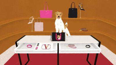 「ヴァレンティノ」愛するペットをプリント!可愛すぎる「バッグ&フーディ」