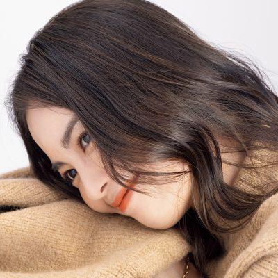 髪に自然な立体感!矢野未希子さんの「カラーリング」の秘密