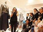 Mila Owen & BLACK BY MOUSSY 店頭トークショー