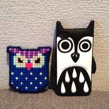 PDCT Owl Broach and iPhone case.JPG